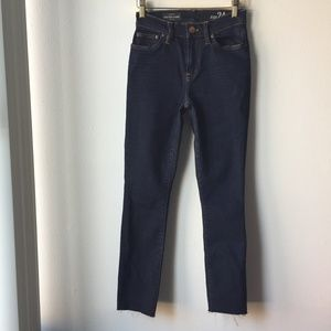 J. Crew Lookout High-Rise Jean In Resin Wash